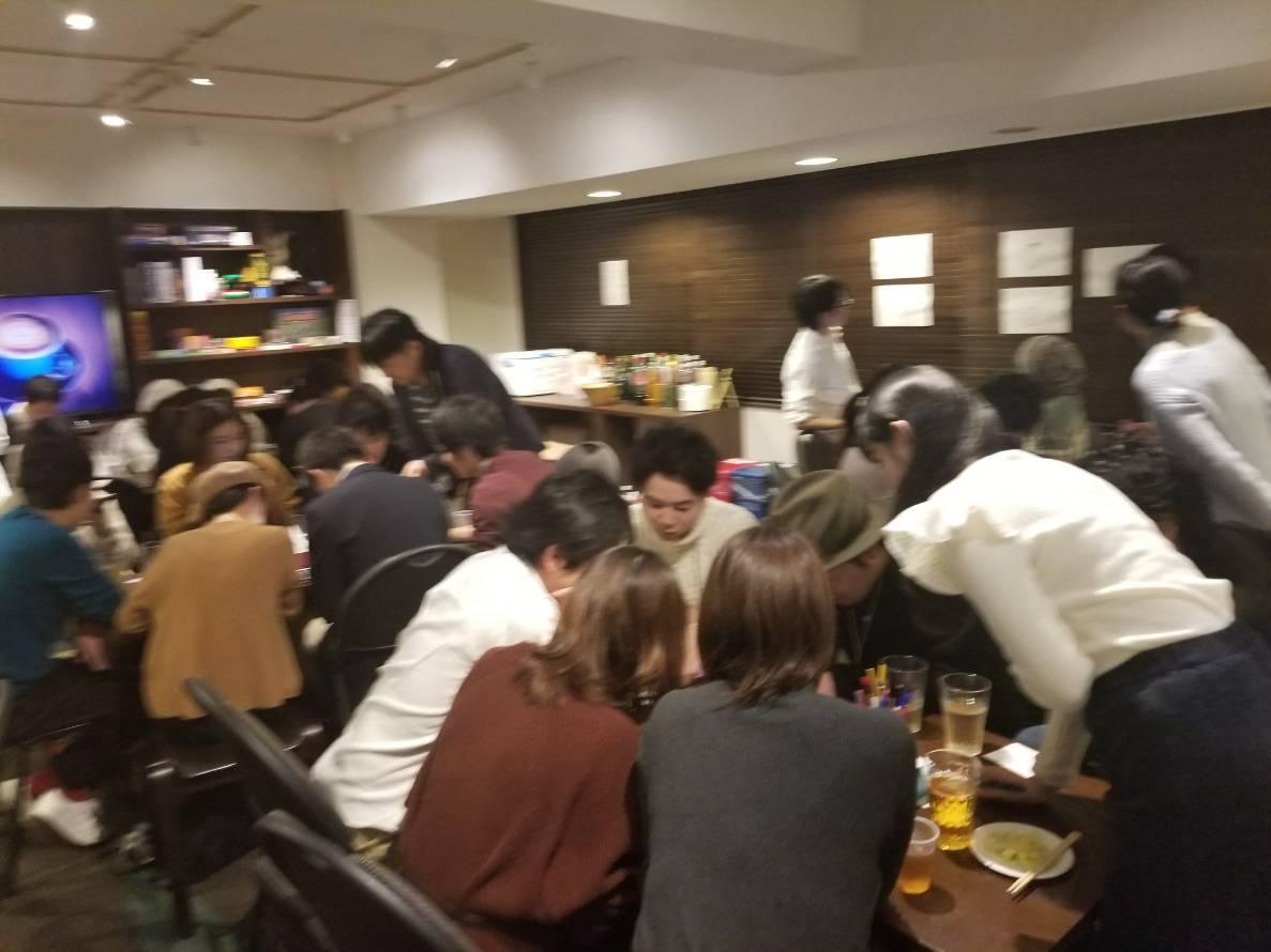 【恋活パーティー】11月の謎解き脱出ナイト!