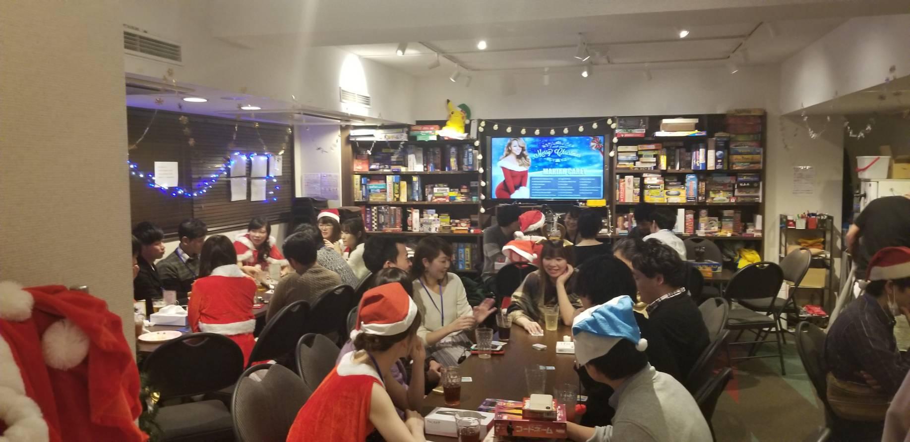 【恋活パーティー】ボードゲーム恋活・クリスマスSP!